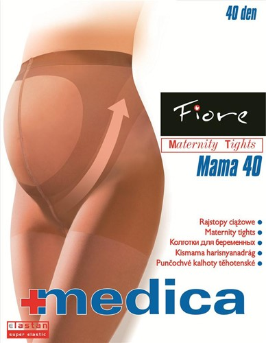 Колготки Fiore Mama 40 den, natural - фото 12200