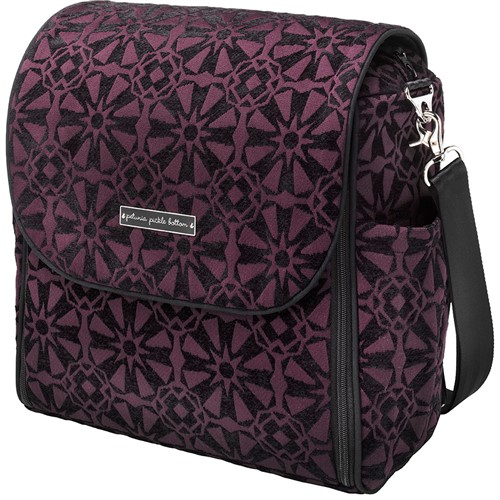 Сумка для коляски Petunia Boxy Backpack: Evening Plum - фото 35867