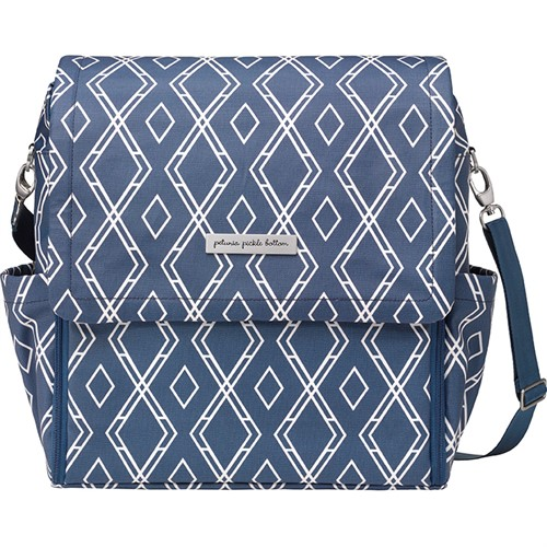 Сумка для коляски Petunia Boxy Backpack: Indigo - фото 53563
