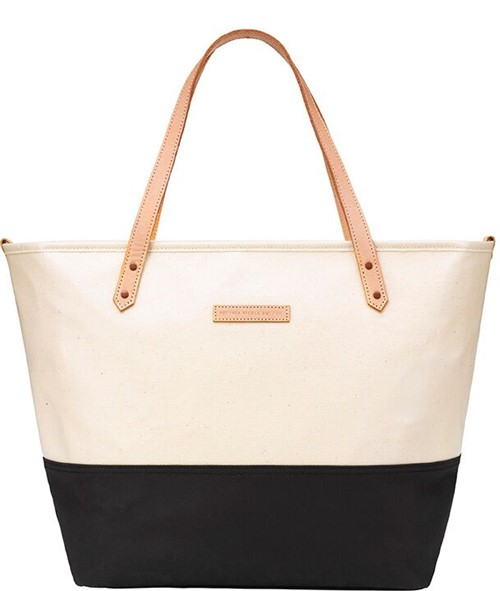 Сумка для мамы Petunia Downtown Tote: Birch/Black - фото 53706