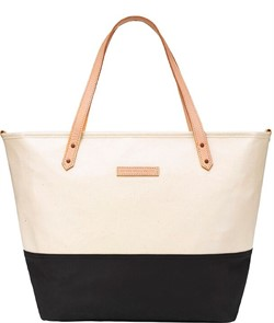 Сумка для мамы Petunia Downtown Tote: Birch/Black