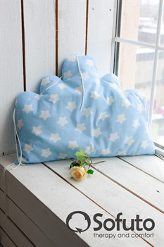 Бортик Sofuto Babyroom Cloud big Blue sky