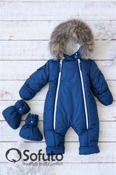 Комбинезон зимний Sofuto outwear V3 Dark blue (toddler)